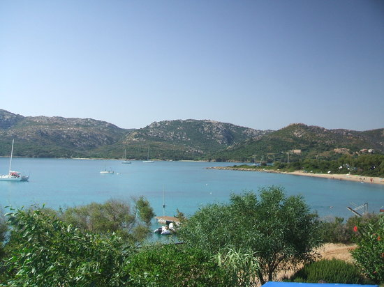 Park Hotel Cala di Lepre & Spa : View from the Pool