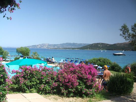 Park Hotel Cala di Lepre & Spa: View from the Pool Bar