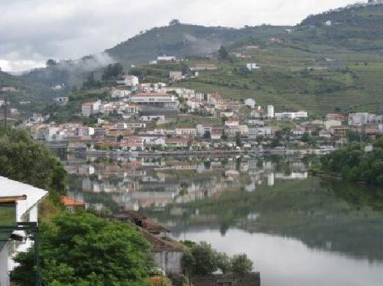 Pinhao from the terrace of the Quinta de la Rosa