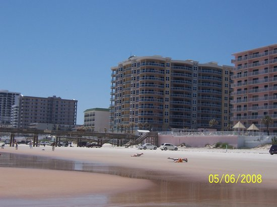 "Tropical Suites Daytona Beach: Sunglow Condo, to the right and ""Pink""~"