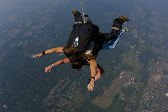 Skydive Philadelphia : What a view
