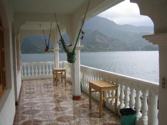 San Pedro La Laguna, Guatemala: View from Hammock
