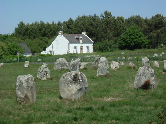 Carnac, France: standing stones
