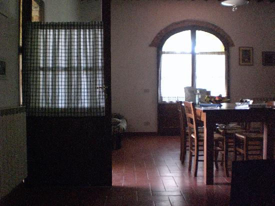 Il Chiassale : Living and dining area.