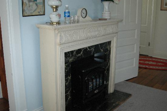 Feallock House: Lewis Room fireplace