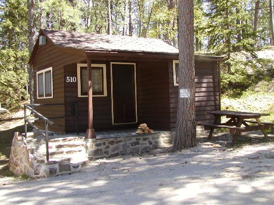 State Game Lodge: Sylvan Lake Cabin