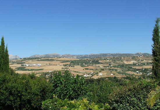 Hotel La Fuente De La Higuera: View from the terrace