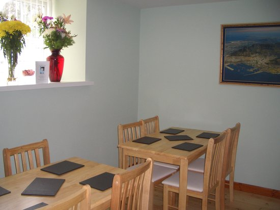 Capel Pisgah: eating room