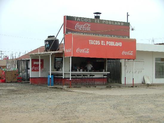Estero Beach Hotel & Resort: Tacos el Pablano