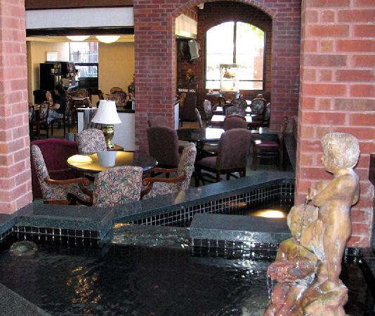 Drury Inn Indianapolis Northwest: Lobby Fountain