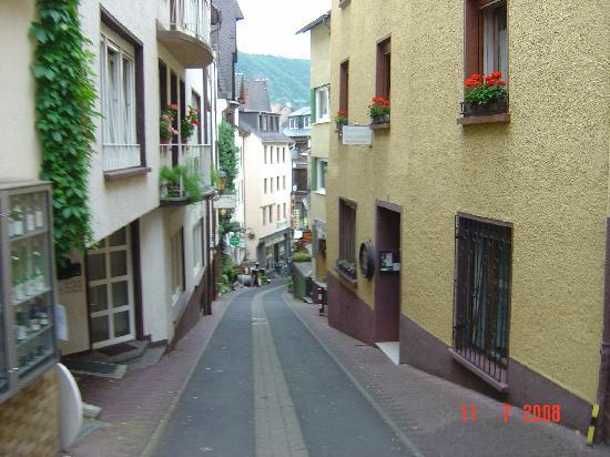 Villa Tummelchen: The view down to the main streets