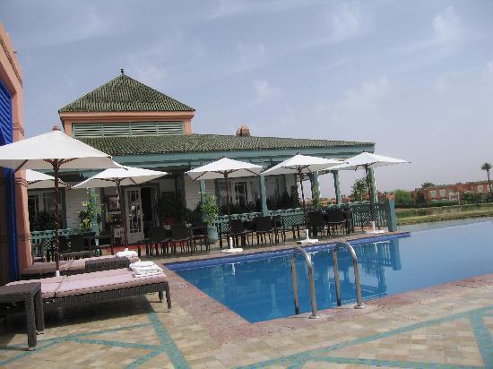 Le Pavillon Du Golf : Terrasse Pavillon du Golf