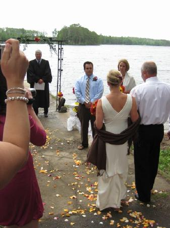 Silver Rapids Lodge: Wedding