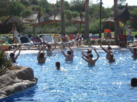 RV Hotel Ametlla Mar: scéance d'aquagym