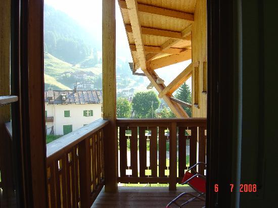 Hotel Mesdi: our balcony