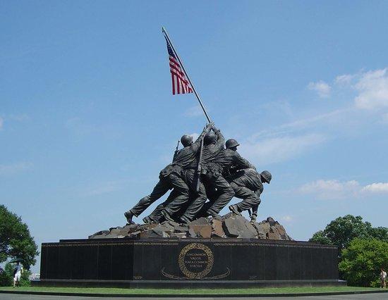 U.S. Marine Corps War Memorial: Marine Corps War Memorial (Iwo Jima)