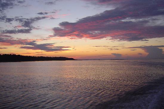 House of Tartts: sunrise over Apalachicola Bay