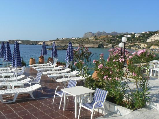 Lena Beach Hotel: terrace_by_the_pool