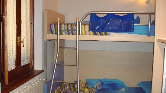 La Loggia Bed & Breakfast: bunkbeds