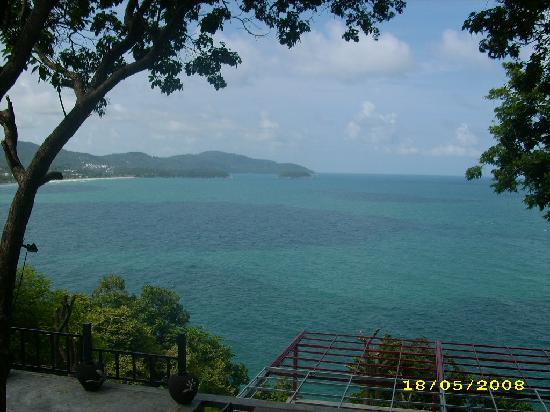 Secret Cliff Resort: Sea view by the restuarant
