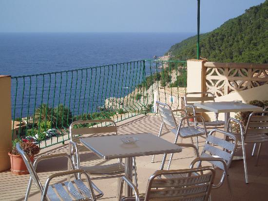 Banyalbufar, Spanien: terrazza bar