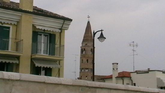 Caorle, Italy: campanile chiesetta
