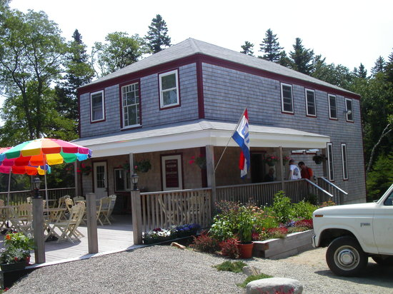 Great Cranberry Island, เมน: Cranberry House - Home of Hitty's Cafe
