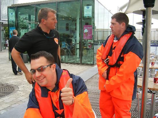Cork Sea Safari : Getting ready