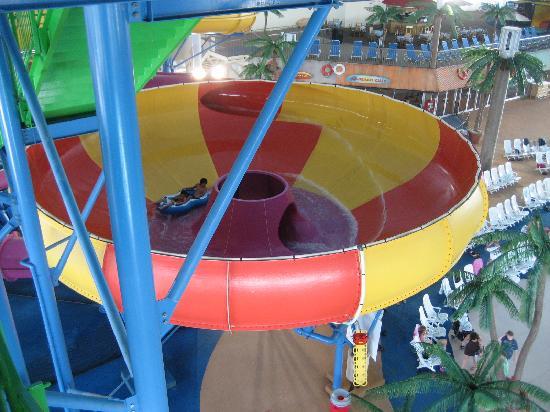 Skyline Hotel & Waterpark: Canadian Plunge Bowl