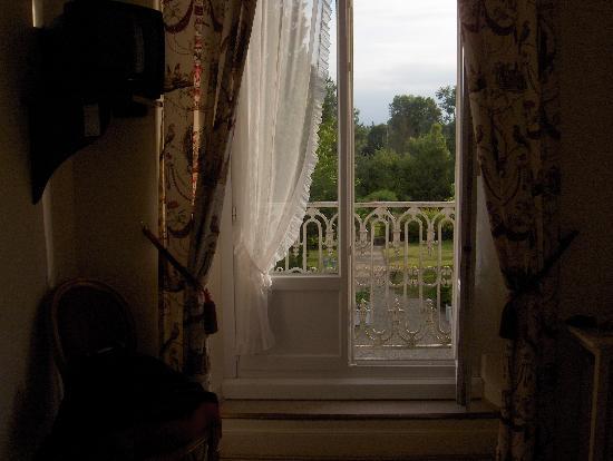 L'Hermitage: balcony