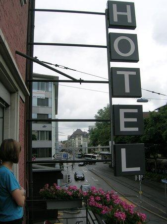 Sternen Oerlikon Hotel:                   Balcony