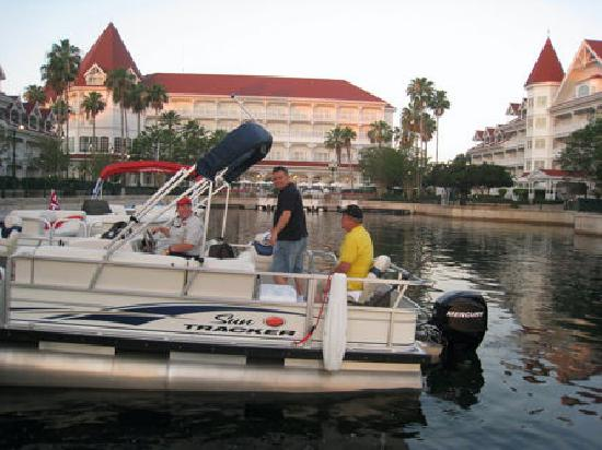 Bass fishing excursions right off the floridians dock for Bass fishing disney world