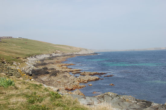Lerwick, UK: Sandwick - near the moussa island