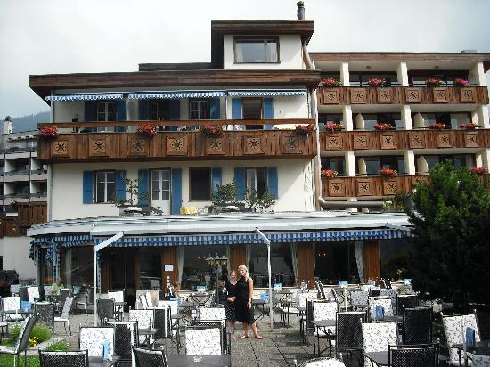 Hotel Spinne: Back view