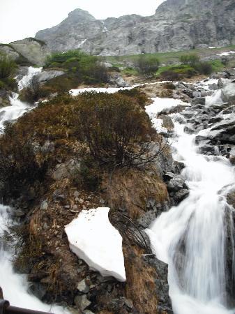 Hotel Spinne: Waterfall