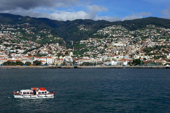 Funchal from the Ocean