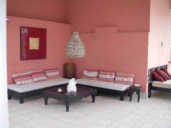 Hotel Julamis roof terrace