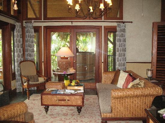 Little Palm Island Resort & Spa, A Noble House Resort: Our beautiful bungalow