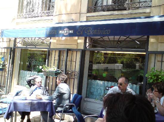 Restaurante El Botanico: La terrasse