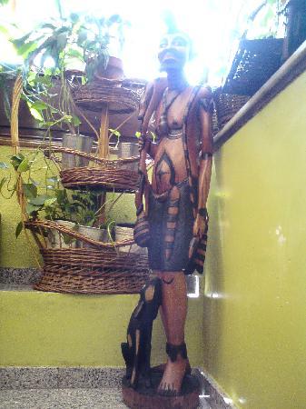Restaurante El Botanico: En remontant des toilettes !