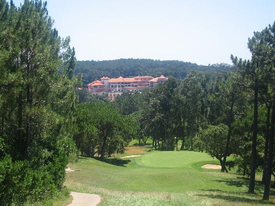 Penha Longa Resort: View of hotel from golf course