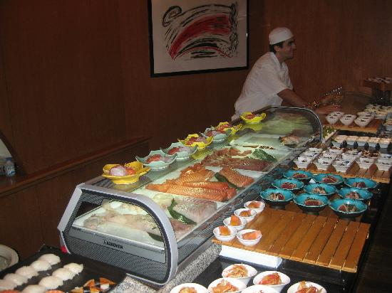 Penha Longa Resort: Sushi buffet @ midori restaurant