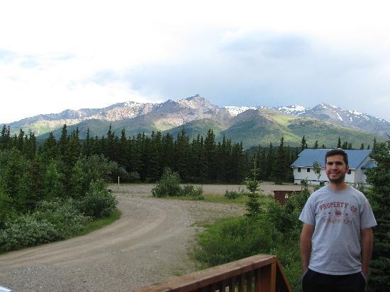 Alaskan Spruce Cabins: Views from Cabin