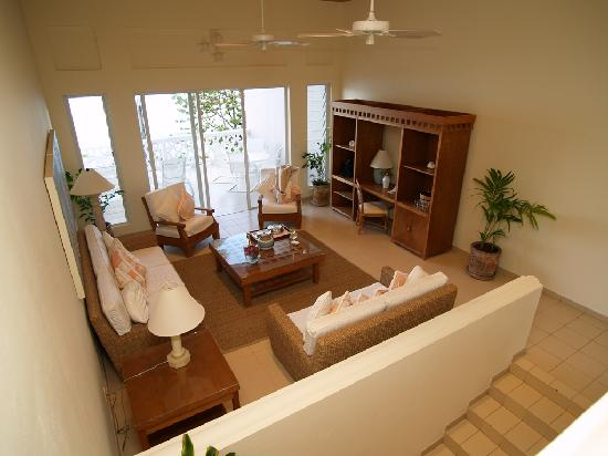 Curtain Bluff Resort: Deluxe Room Living area