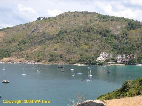 Rawai, Tajlandia: View from Promthep Cape