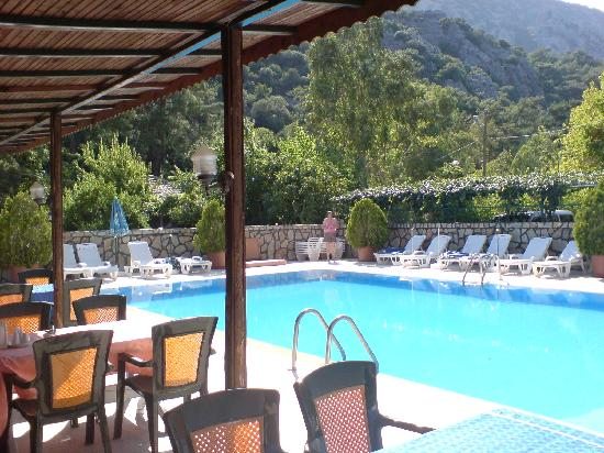 Canada Hotel Cirali Olympos : by the pool