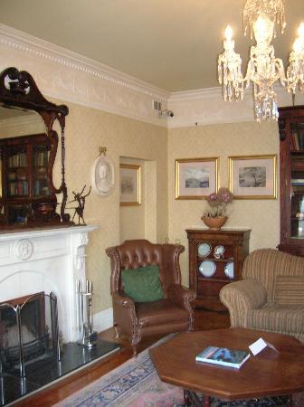 The sitting room of the Arbutus Hotel Killarney