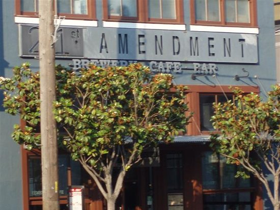 Photo of American Restaurant 21st Amendment Brewery at 563 2nd St, San Francisco, CA 94107, United States
