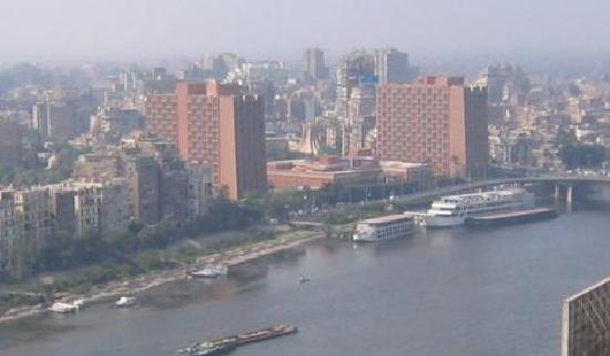 Hotel view from Ramses Hilton