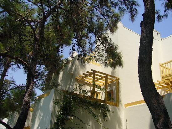 Club Med Bodrum Palmiye: balcon
